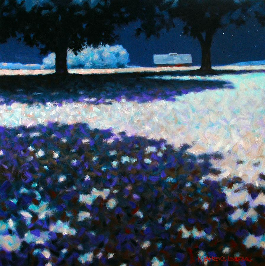 Moonlight Painting - Moonlit Acres by Kevin Lawrence Leveque