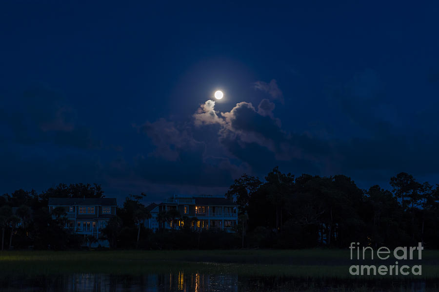 Moonlit Sky Photograph