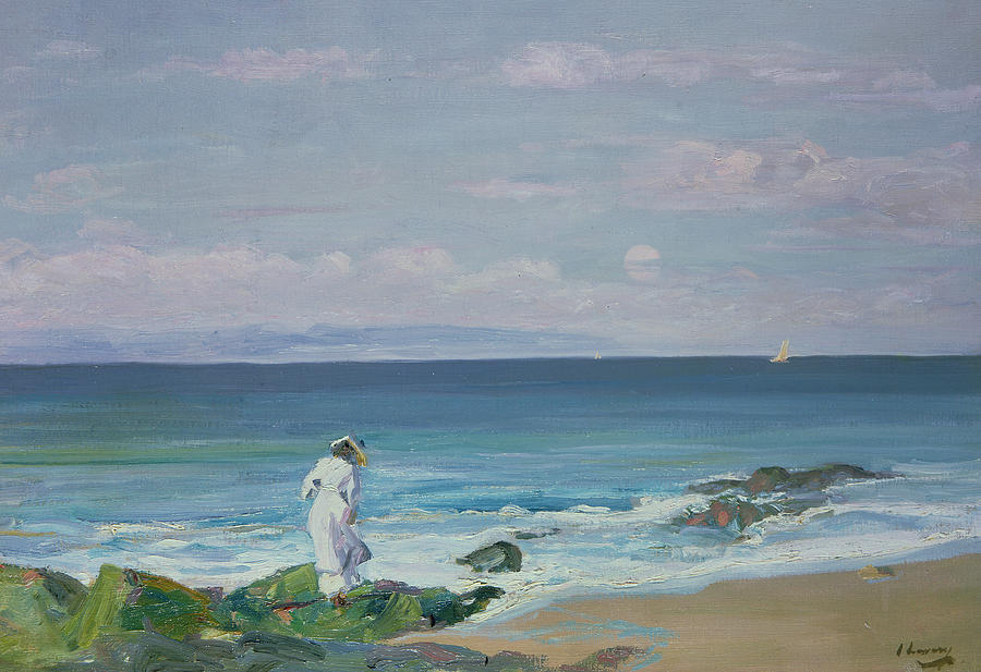 Moonrise Painting By Sir John Lavery