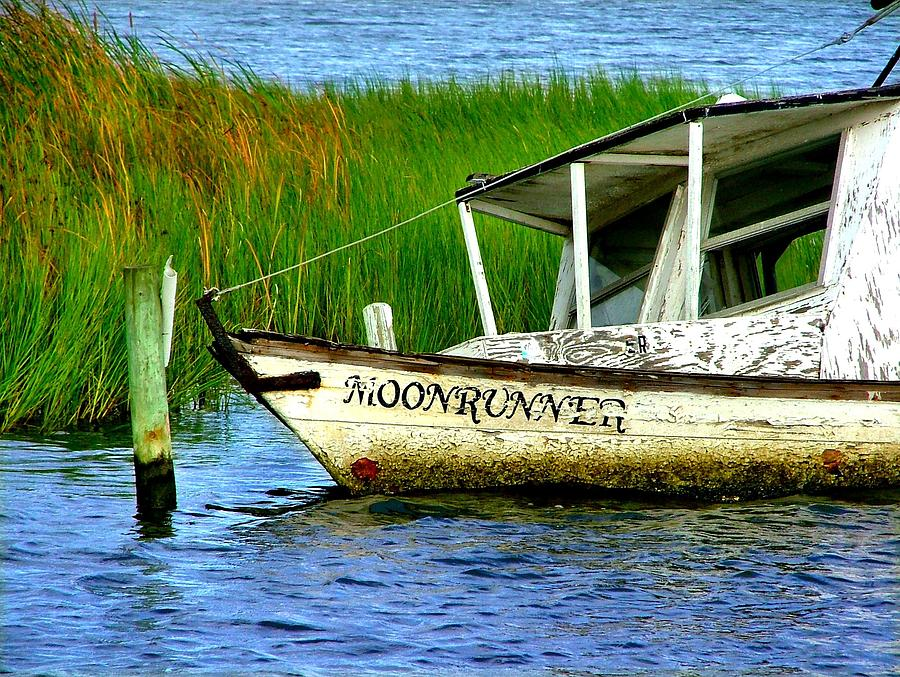 Fishing Photograph - Moonrunners Last Days by Julie Dant