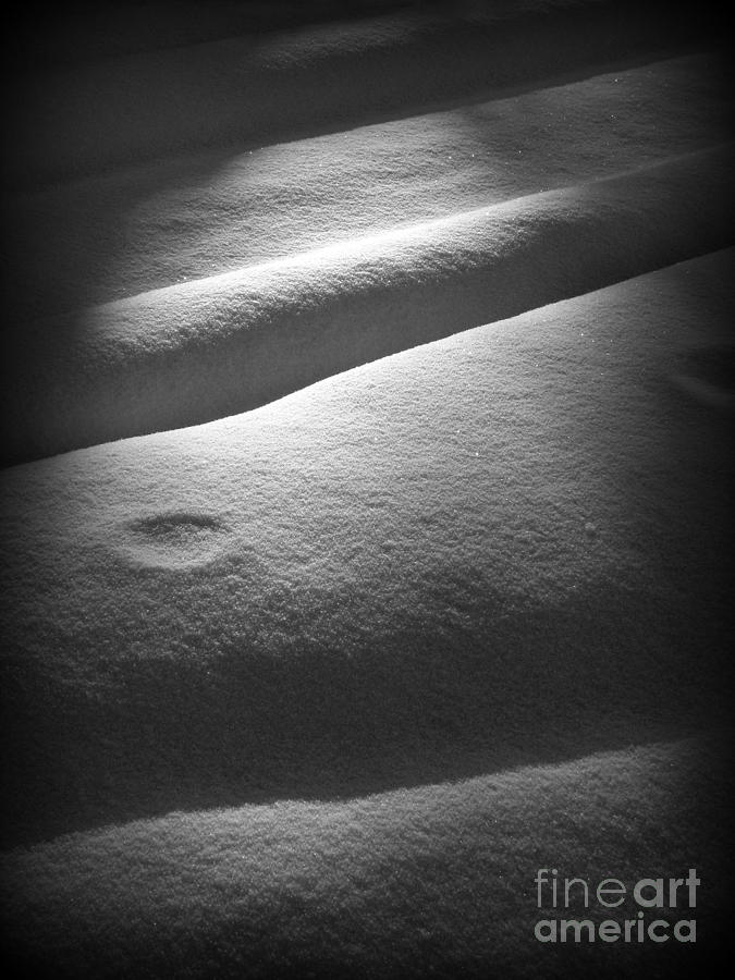 Snow Photograph - Moonscape by C Ray  Roth