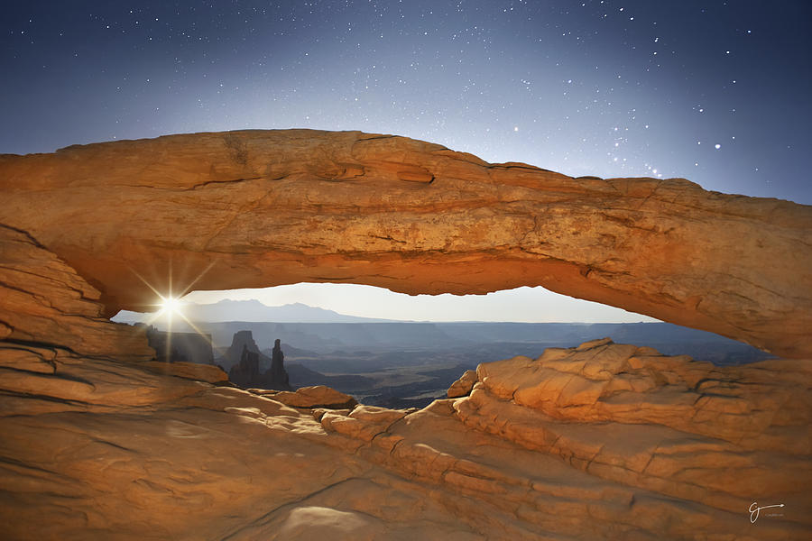 Canyonlands Photograph - Moonshine - Craigbill.com - Open Edition by Craig Bill