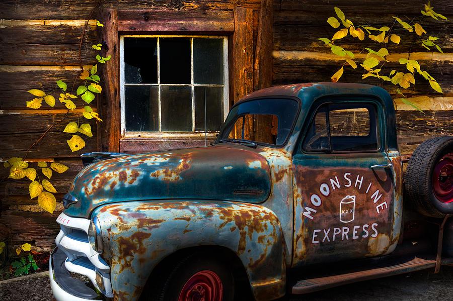 1950s Photograph - Moonshine Express by Debra and Dave Vanderlaan