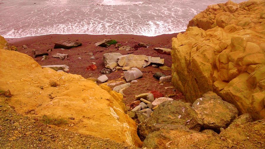 Moonstone Beach Photograph by Sharon Costa