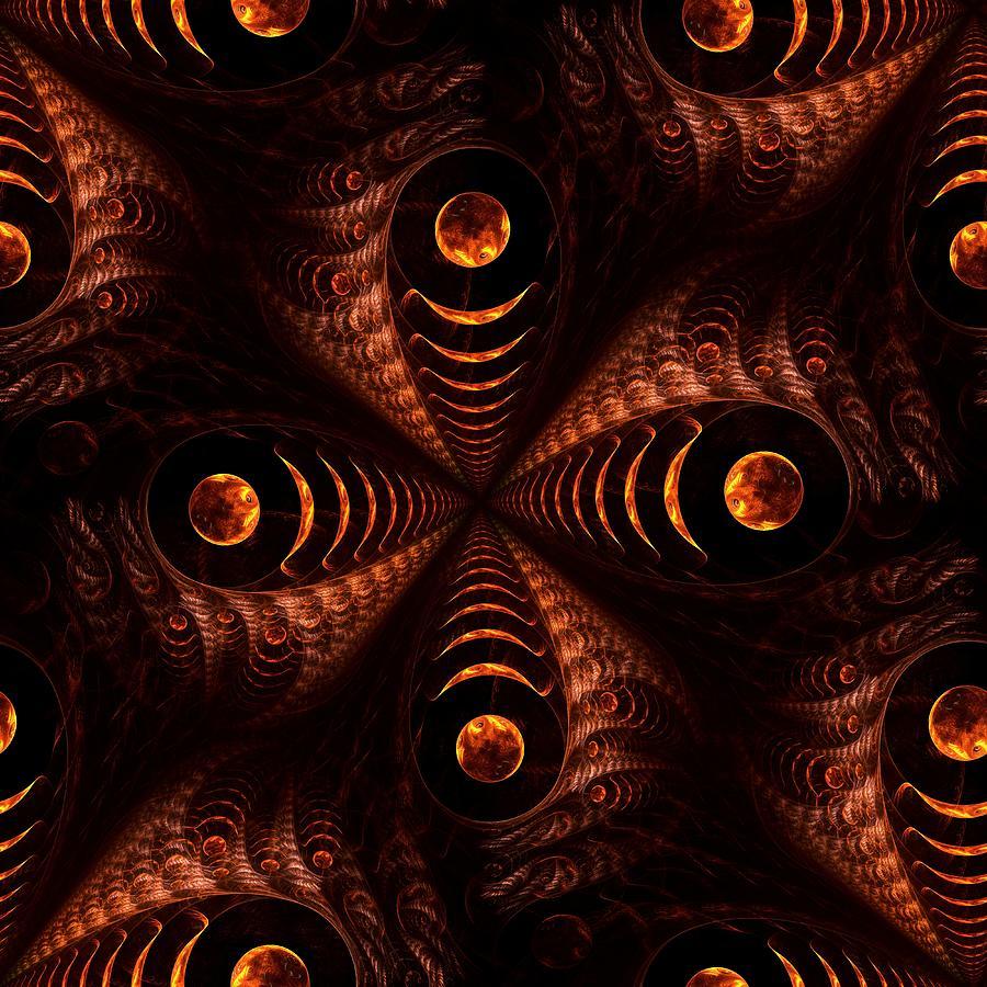 Computer Digital Art - Moonstruck by Anastasiya Malakhova
