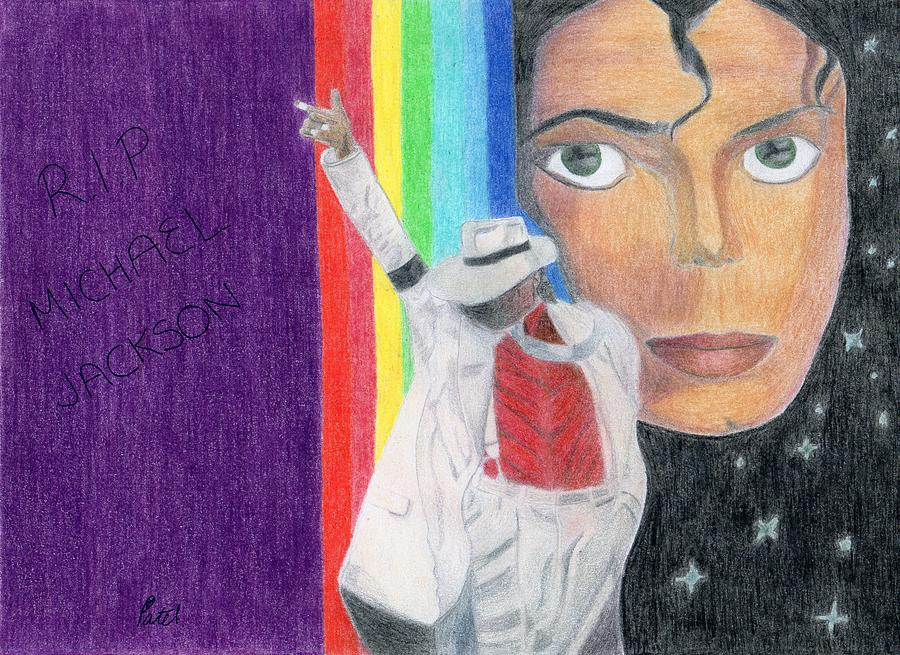 Michael Jackson Drawing - Moonwalker by Bav Patel