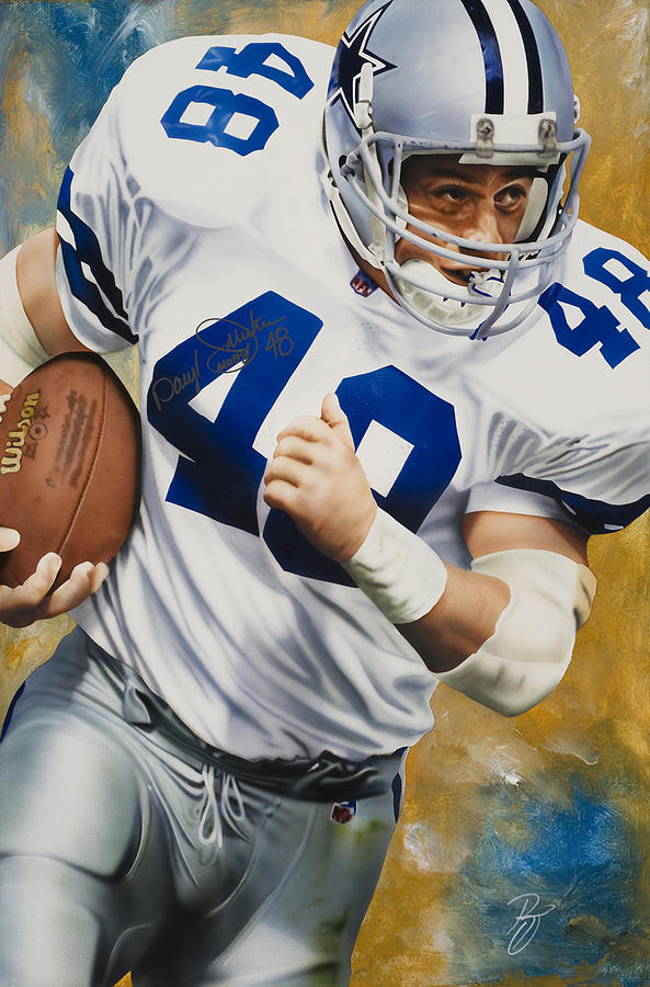 Nfl Painting - Moose by Rob Jackson