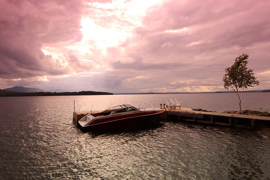 Boat Photograph - Moosehead Lake by Ryan Hord