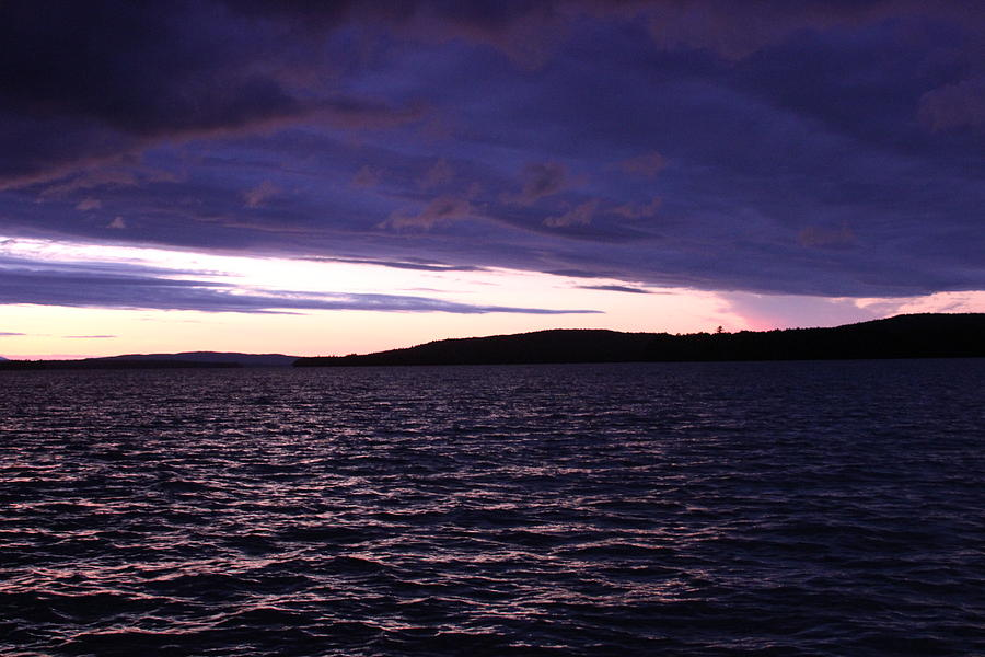 Moosehead Lake Photograph - Moosehead Lake Sunset by Ryan Hord