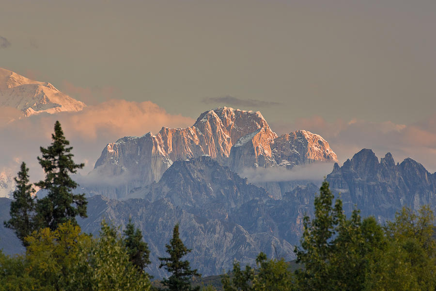 Alaska Photograph - Mooses Tooth by Kevin G Smith