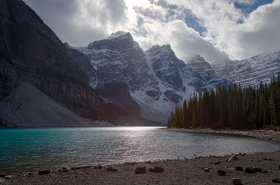 Moraine Lake by Kim Aston