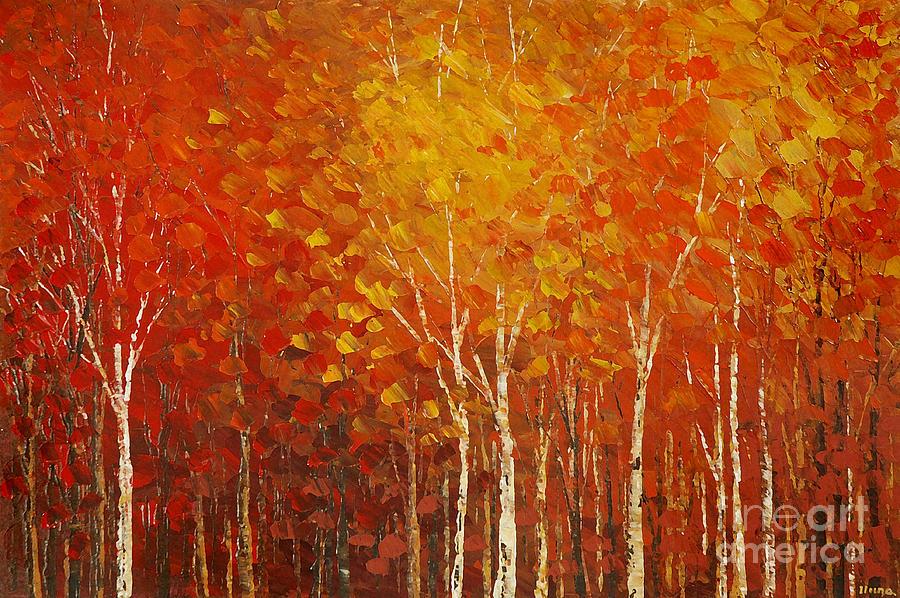 Impressionist Painting - More Perfect Union by Tatiana Iliina