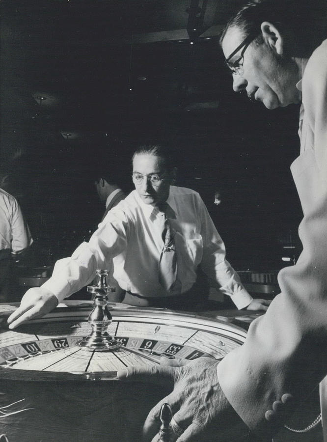 Retro Photograph - More Roulette Whereas Spin In Las Vegas Than In Monte Carlo by Retro Images Archive