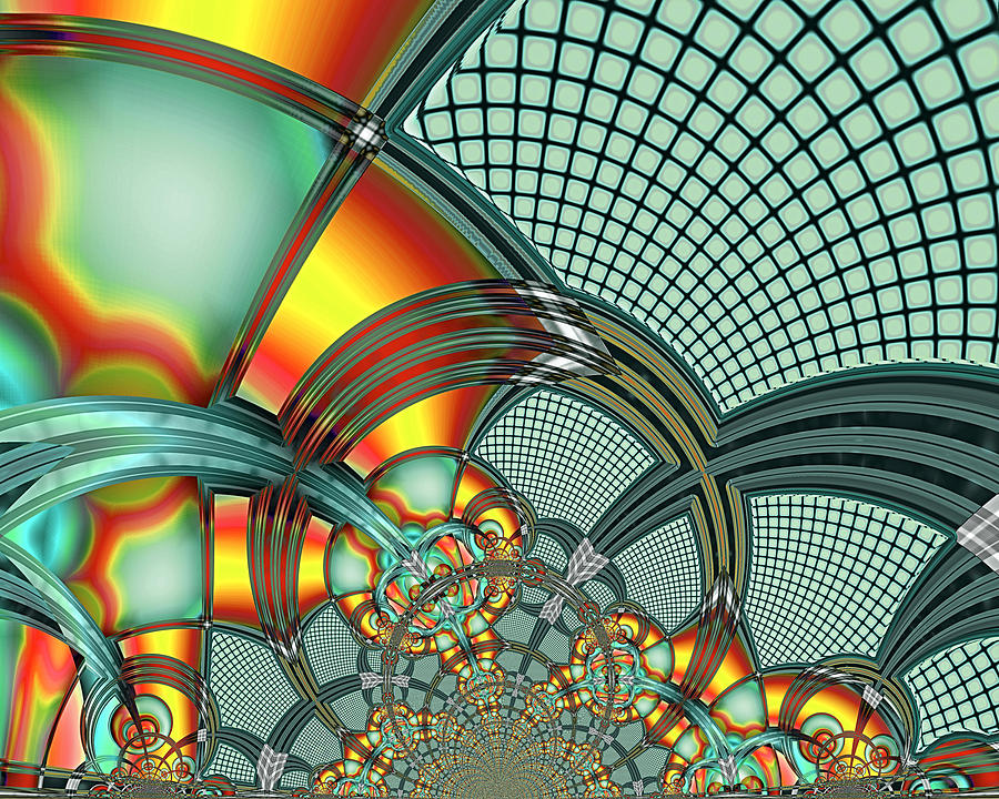 Fractal Digital Art - More Than A Dozen Wishes by Wendy J St Christopher