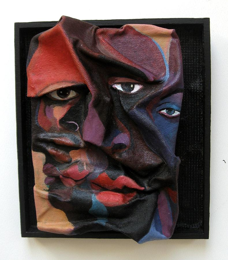 Sculpture Painting - More Than Skin Deep 8 by Joyce Owens