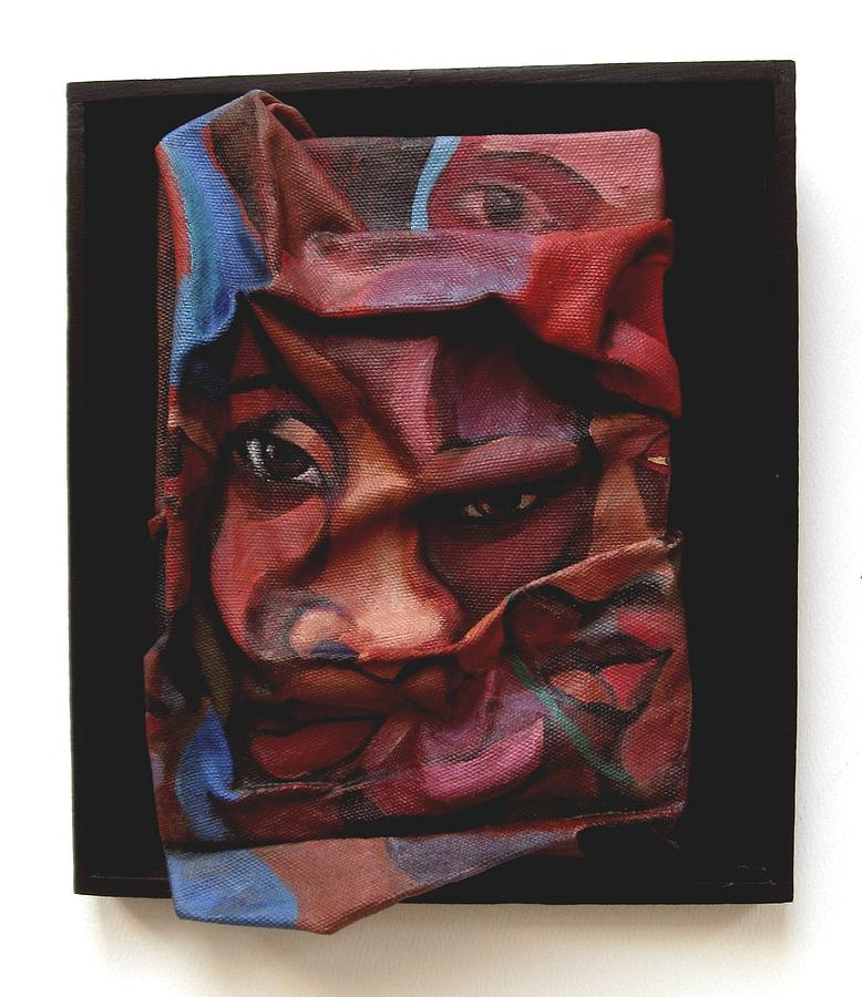 Sculpture Painting - More Than Skin Deep 9 by Joyce Owens