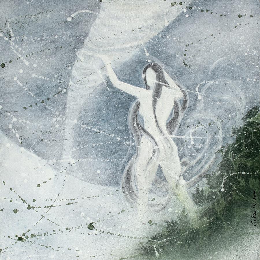Mythology Painting - Morena by Miroslav Galko