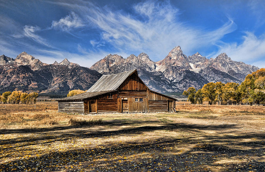 Mormon Row Barn by David Armstrong