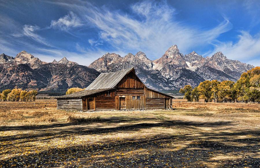 Mormon Row Barn by David Armstrong