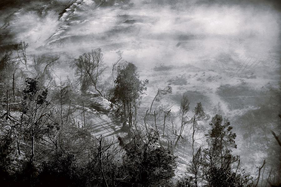 Mount Photograph - Morning At Bromo Heart by Suradej Chuephanich