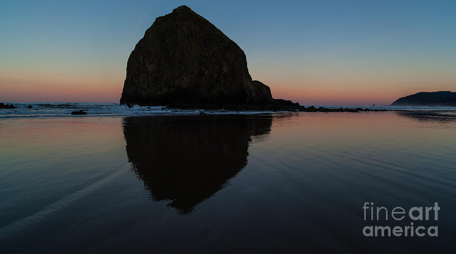 Haystack Photograph - Morning At Haystack by Mike Reid