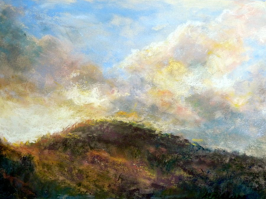 Morning Pastel - Morning At The Dune by Margaret Billups