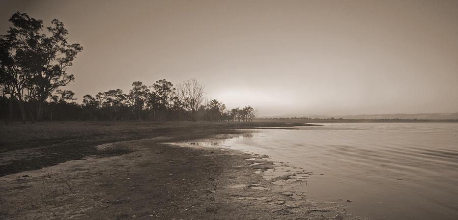 Water Photograph - Morning At The Lake by Gordon  Grimwade