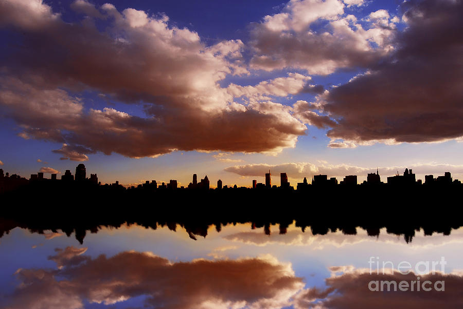 New York City Photograph - Morning At The Reservoir New York City Usa by Sabine Jacobs