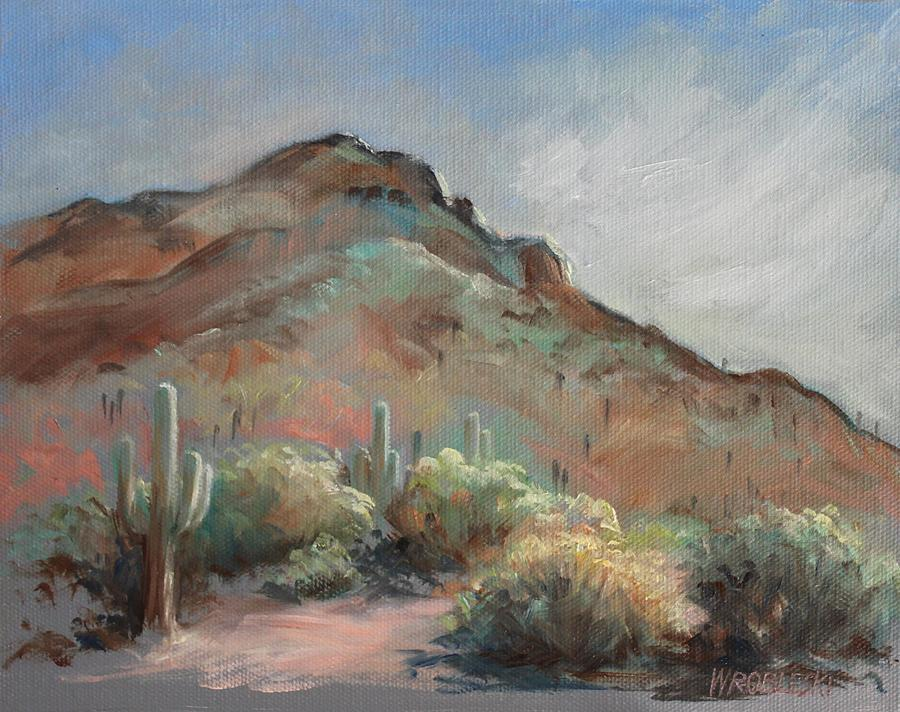 Morning at Usery Mountain Park by Peggy Wrobleski
