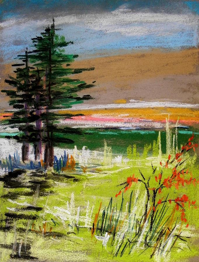 Morning Drawing - Morning Breakthrough by John Williams