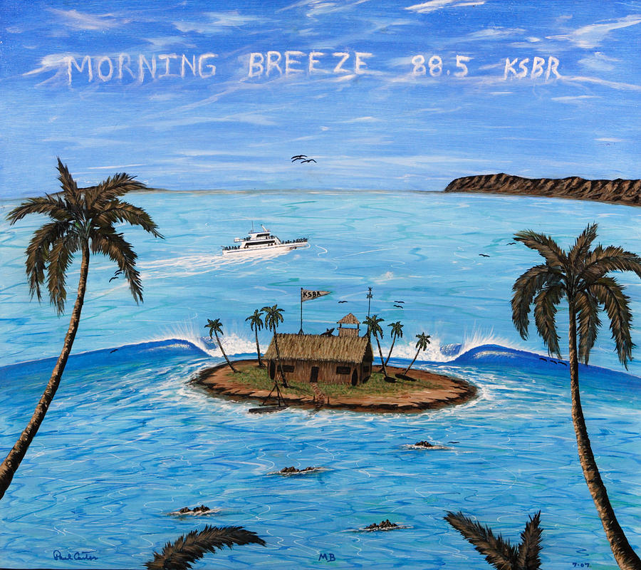 Morning Breeze Cruise Painting by Paul Carter