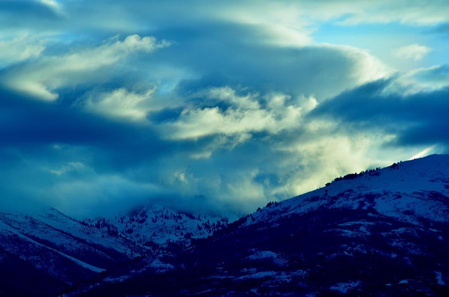 Clouds Photograph - Morning Brew by Robert Reese