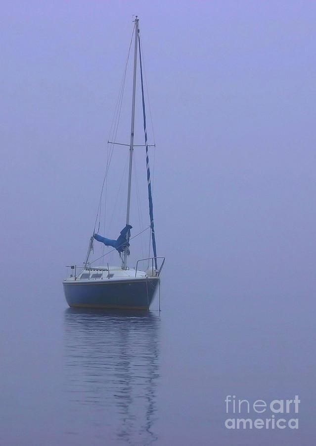 Sailboat Photograph - Morning Calm by Karol Livote