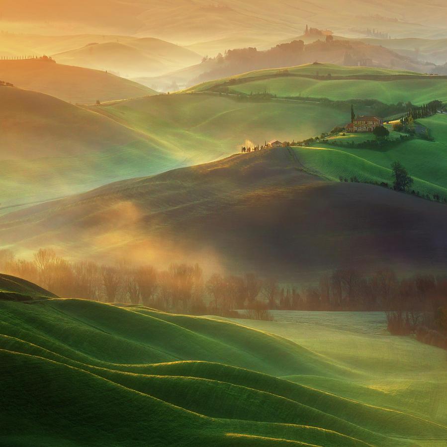 Landscape Photograph - Morning Dreams by Krzysztof Browko