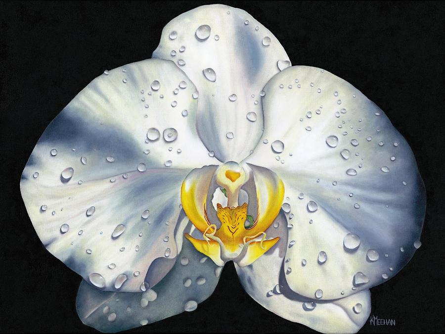 Cool Painting - Morning Formal by Kerri Meehan