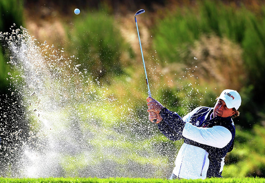 Morning Fourballs - 2014 Ryder Cup Photograph by Harry How