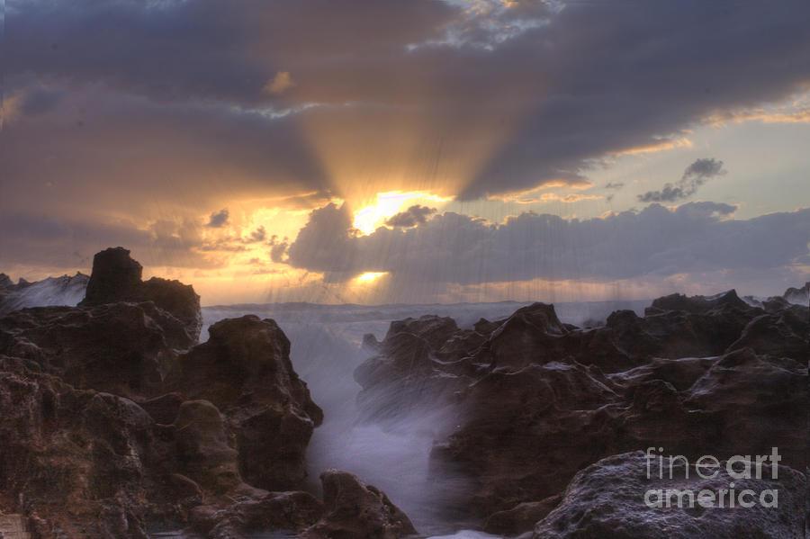 Sunrise Photograph - Morning Glory by Darleen Stry