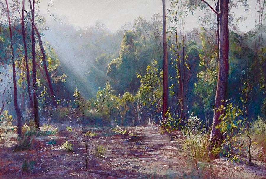 Lynda Robinson Painting - Morning Glory by Lynda Robinson