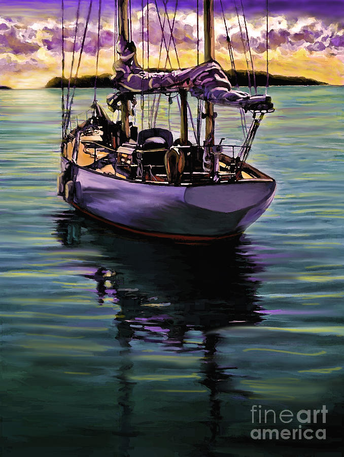 Morning Has Broken by David Van Hulst