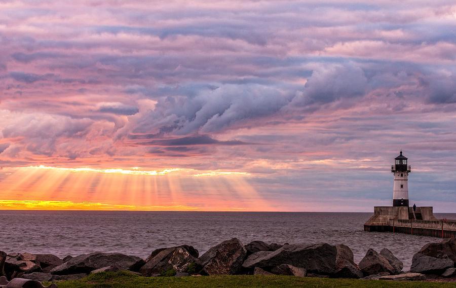 Sunrise Photograph - Morning Has Broken by Mary Amerman