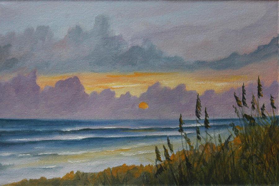 Sunrise Painting - Morning Has Broken by Rosie Brown