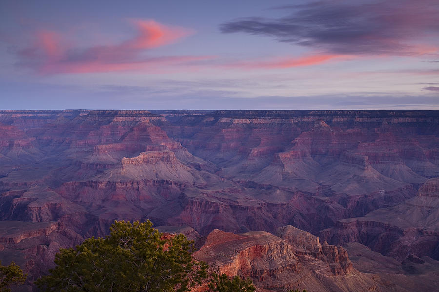 National Park Photograph - Morning Hike Into The Grand Canyon by Andrew Soundarajan