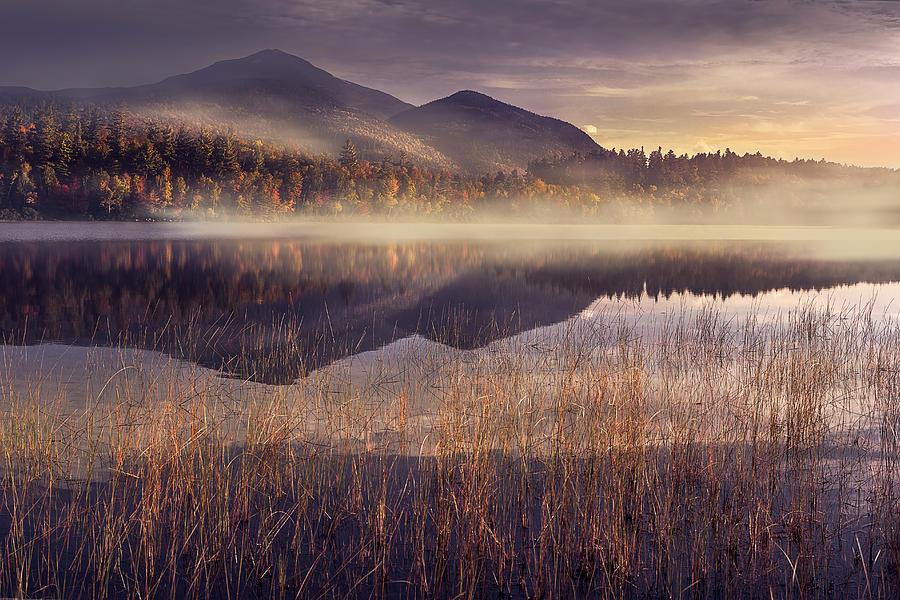 Adirondack Photograph - Morning in Adirondacks by Magda Bognar
