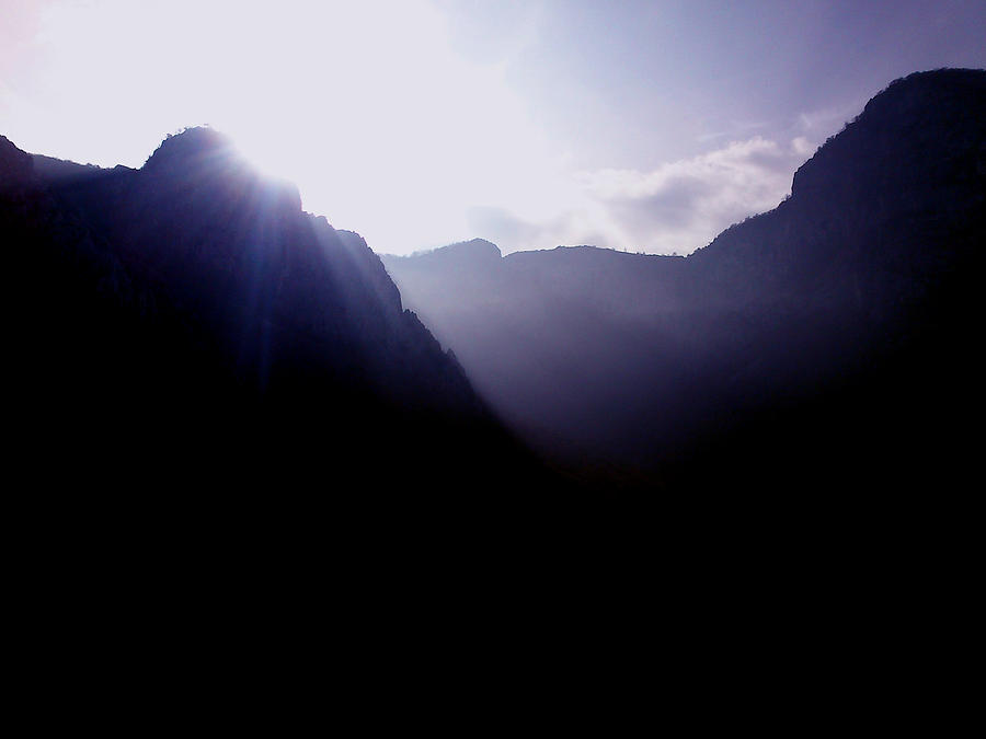 Landscape Photograph - Morning In The Mountains by Lucy D
