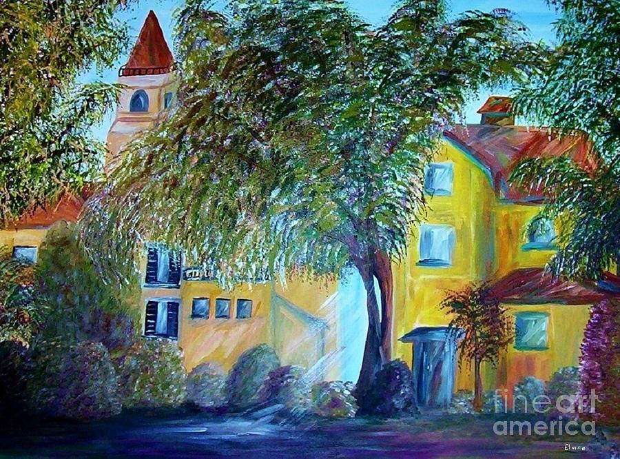 Tuscan Painting - Morning In Tuscany by Eloise Schneider