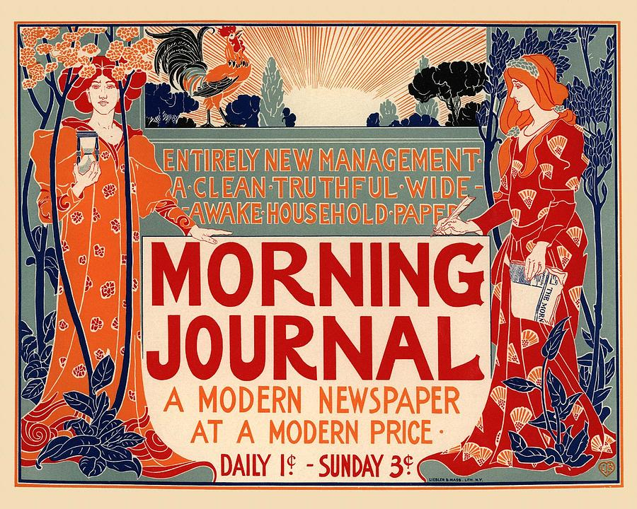Poster Photograph - Morning Journal by Gianfranco Weiss