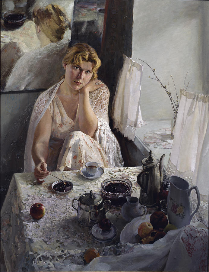 Morning Painting - Morning by Korobkin Anatoly