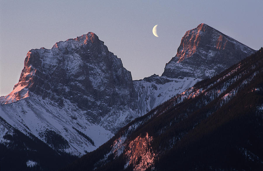 Canmore Photograph - Morning Light Canmore by Richard Berry