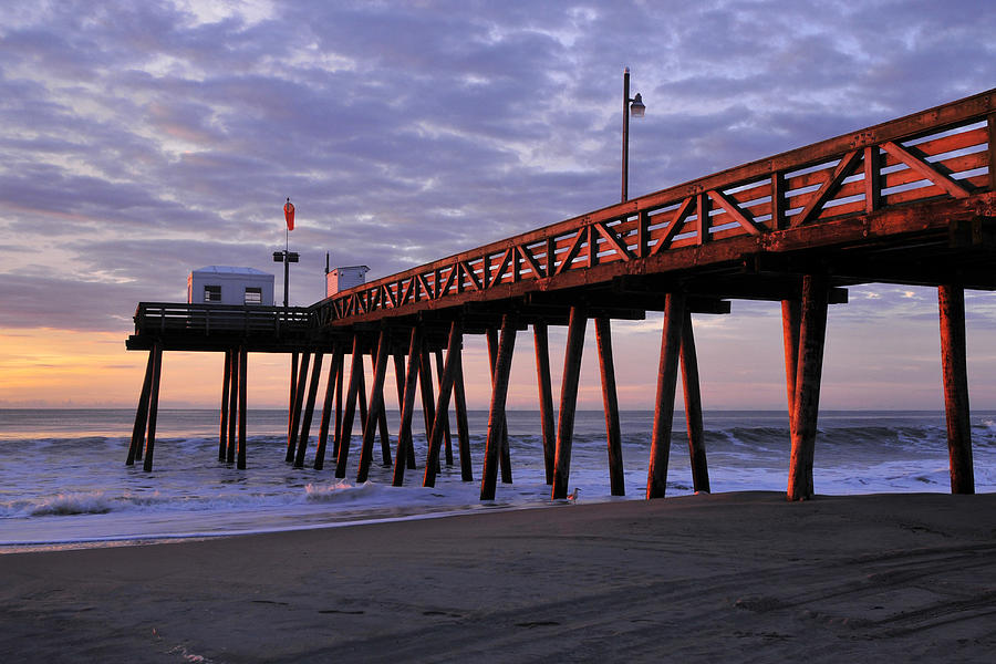 Ocean City Photograph - Morning Light by Dan Myers