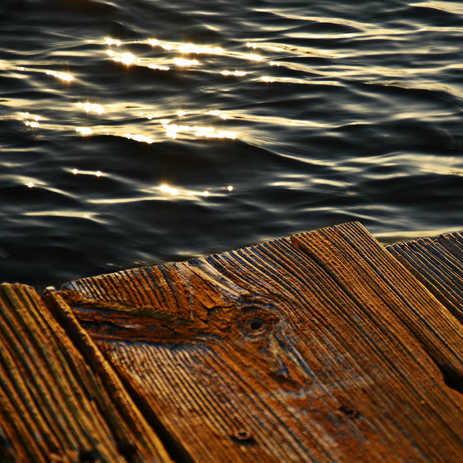 Water Photograph - Morning Light by Laura Fasulo